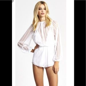 "Alice McCall ""Something to Talk About"" romper. S 6"